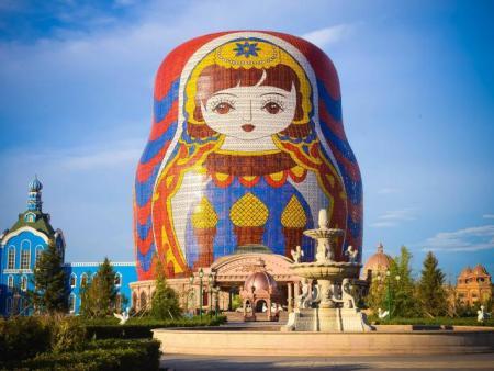 滿洲里套娃廣場-案例展示