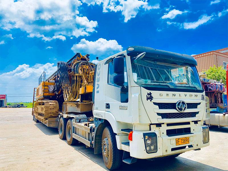 工程机械设备运输