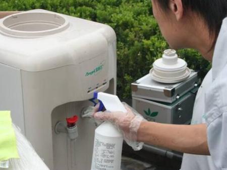 饮水机清洁消毒怎么做?