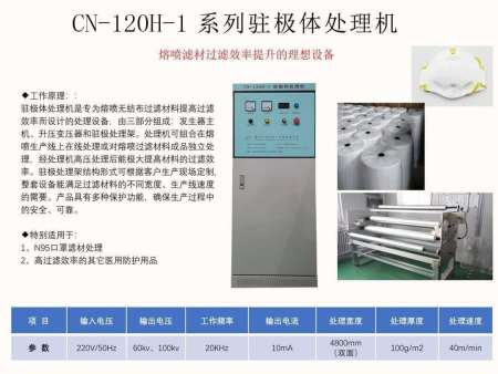 CN-120H1XBB平台驻极体处理机