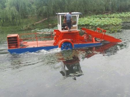 割草船的操作方法