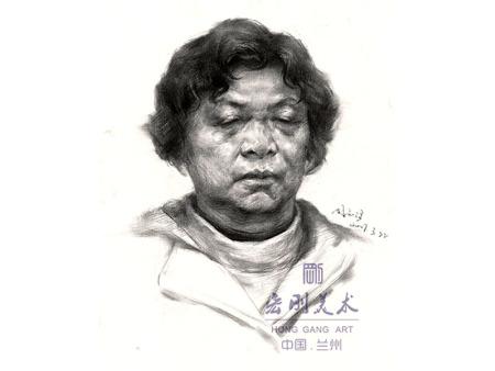 """兰州高考美术-素描绘画中""""黑白灰""""的正确处理方式"""