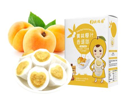 黄桃椰汁西诺挞
