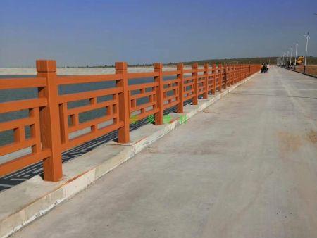 方格型仿木护栏