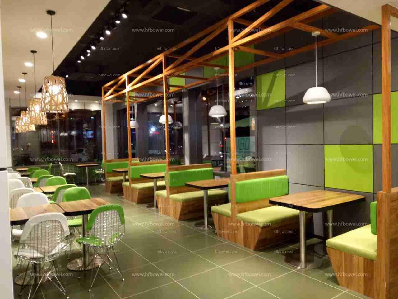 快餐厅餐桌椅_合肥知名的美食城家具公司