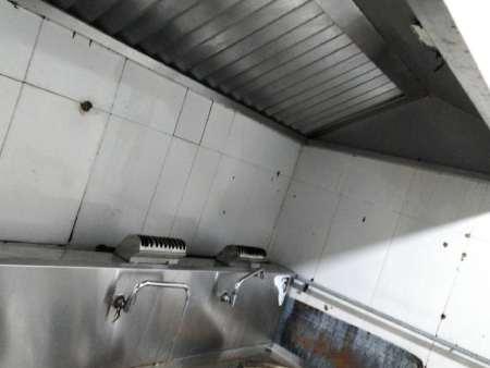 热烈祝贺大佛寺煤矿食堂排油烟系统清洗完成