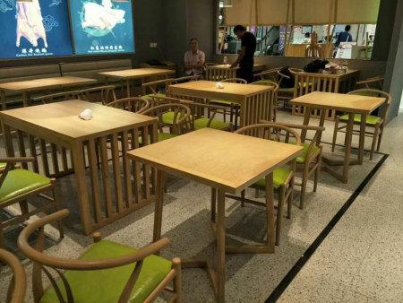 酒店餐桌餐椅厂家-具有良好口碑的美食城家具销售