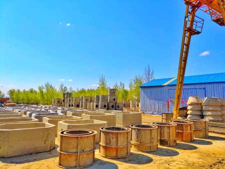 水泥化粪池制造厂展示