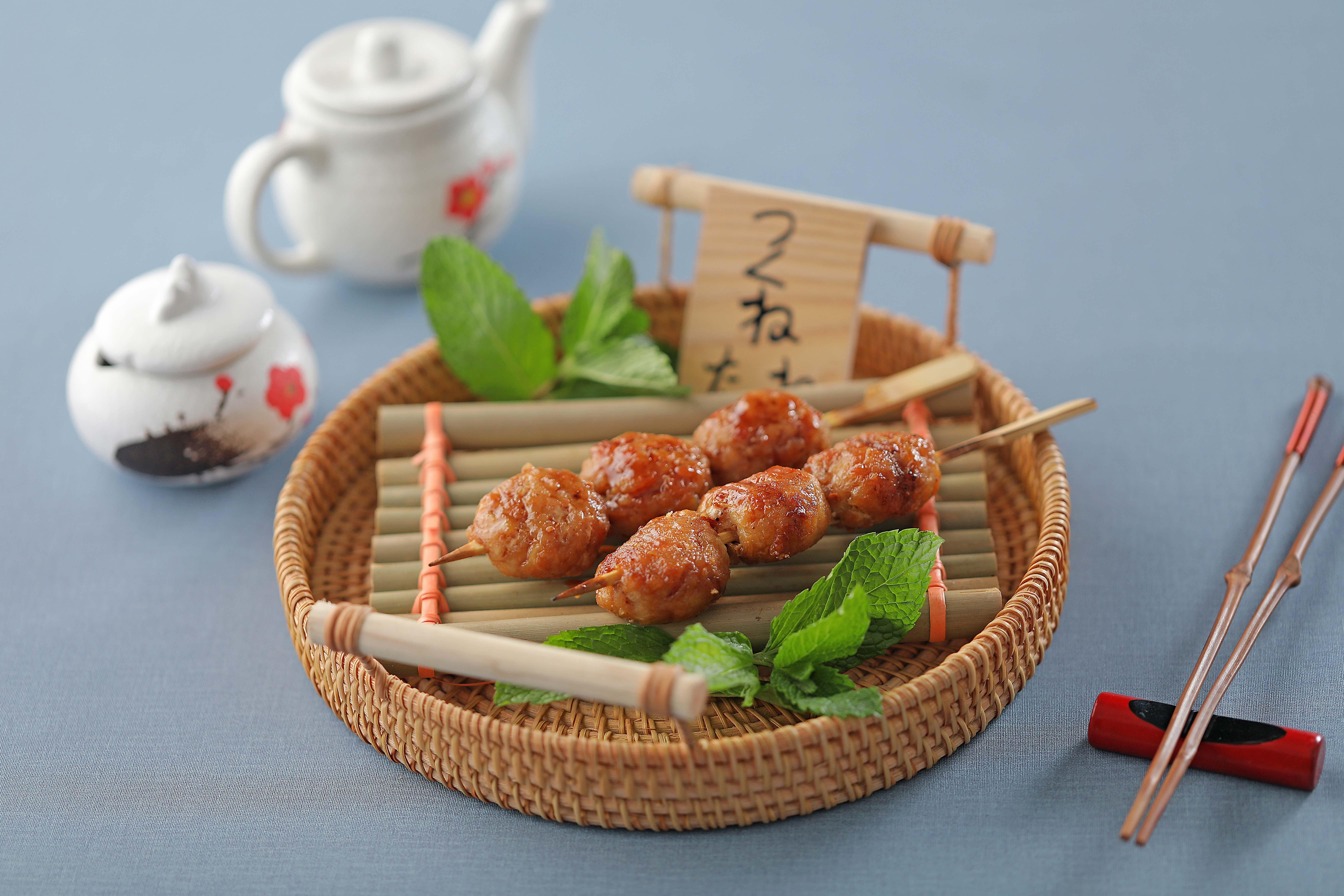 盛崎日式串烧菜品