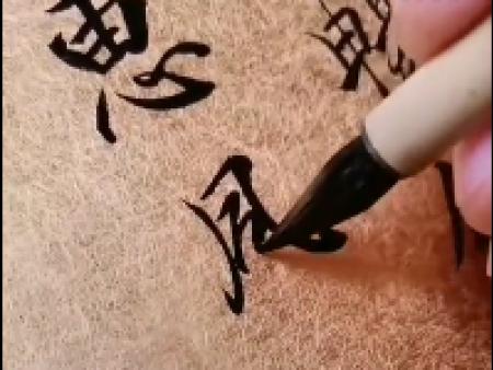 苑丰书画学堂 姜澔老师示范 兰亭序