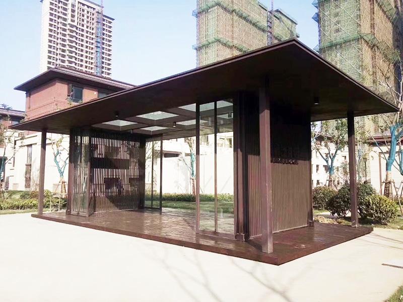 铝单板廊架