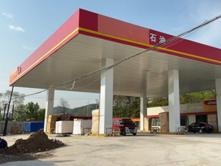 平凉景庄大桥中州石油加油站双志全直流变频空气能采暖项目