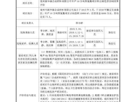 泉州新华福合成材料有限公司
