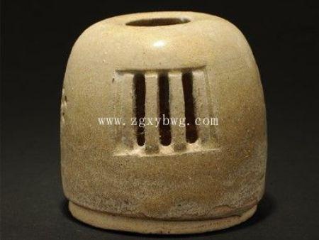 隋青釉熏炉