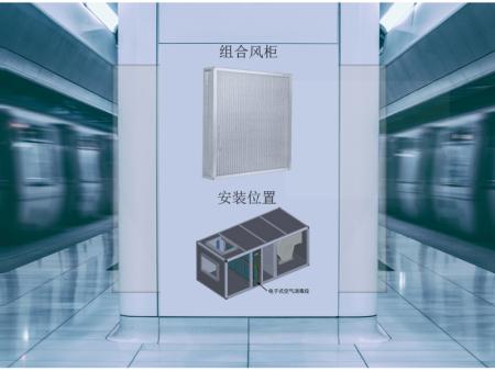 集中空调通风系统中的空气净化消毒装置安装在什么位置?