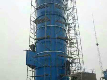 玻璃鋼脫硝塔在施工的時候該注意什么
