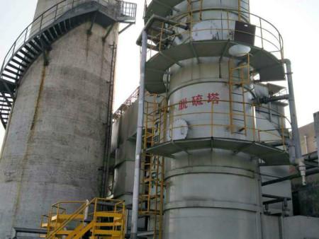 脱硫塔内部的材料需要应对温度的急剧变化