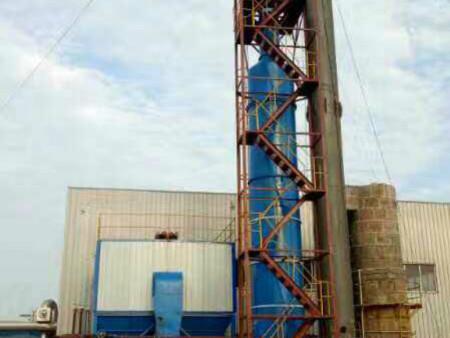 含硫气体在砖厂脱硫塔的净化全过程