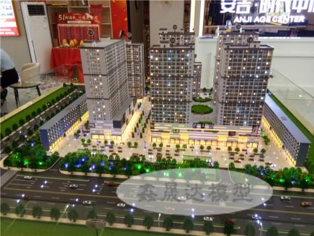 鑫晟達--南寧模型作品安吉時代中心