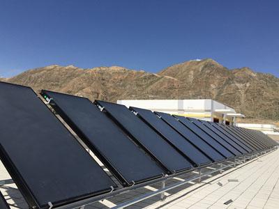 甘肅太陽能工程-平板式太陽能集熱器