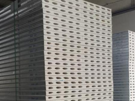玻镁中空板|玻镁手工中空机制彩钢夹心板