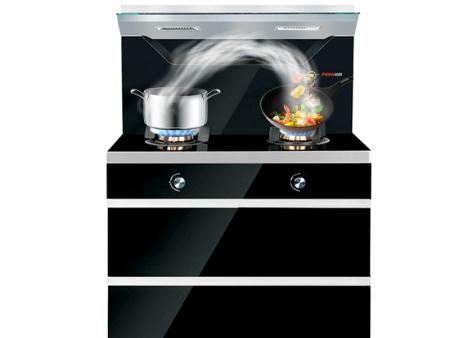 培恩PEINN集成灶一体灶JJZYT-B3s消毒柜集成一体灶一级能效5.0KW燃气灶具电热自动清洗 黑色 天然气(12T)