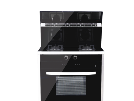 培恩PEINN集成灶JJZYT-C1ZKGX蒸烤箱集成一体灶一级能效5.0KW燃气灶具电热电热清洗 黑色 天然气(12T)