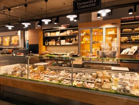 成都众派思装饰 | 法国安格雷市Halles des 5 Cantons食品综合市场设计