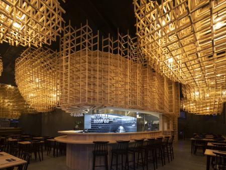 成都众派思装饰 | 葡萄牙Ajitama Ramen Bistro日料餐厅设计