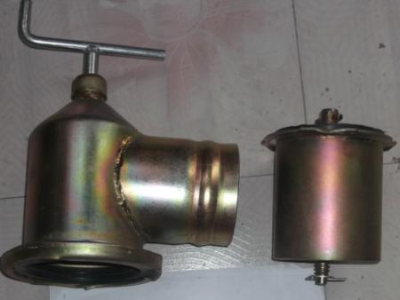 钢制出水口Φ125Φ110