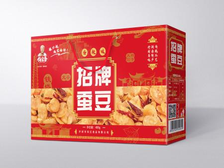 招牌蚕豆礼盒装(香辣味)400g