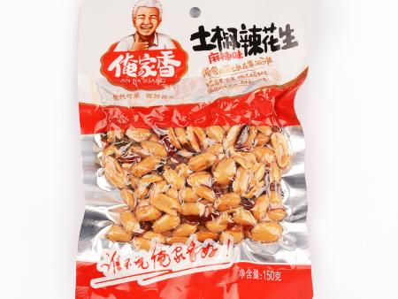 土椒辣花生(麻辣味)150克