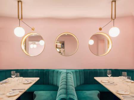 成都众派思装饰 | 伦敦North Audley Canteen餐厅设计