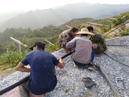 广西灌溉管焊接 滴灌管连接 南宁广顺水肥一体灌溉技术