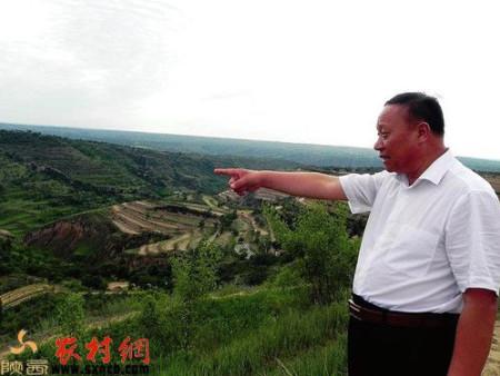 千亿国际老虎机天台现代生态农业示范基地创始人卢效平回报家乡恩的赤子心