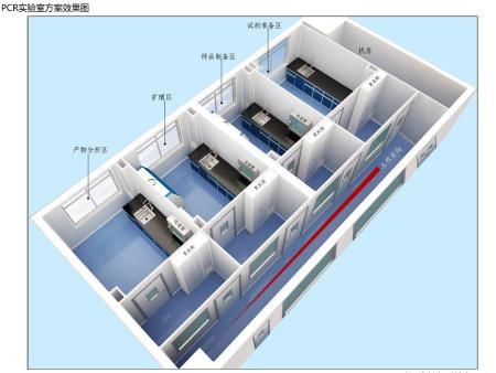 标准的PCR实验室建设方案-兰州科贝