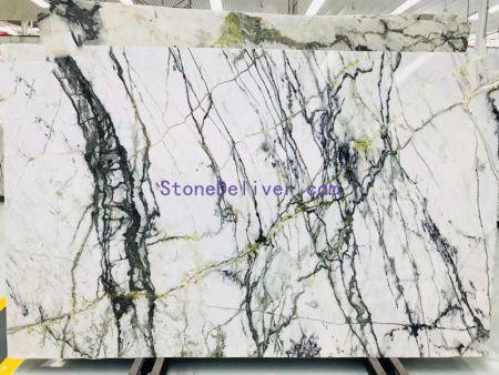 Burgeon White marble