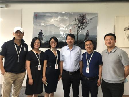 西安市委宣传部常务副部长廉宏伟考察调研