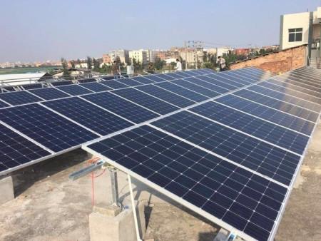 陳埭桂林村30kw屋頂光伏發電項目