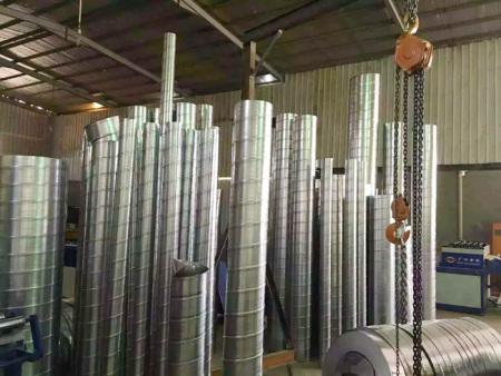 螺旋风管对外加工工程案例