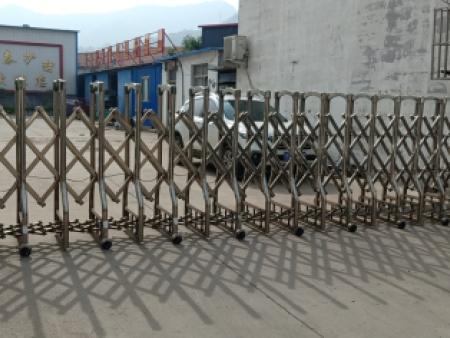 不銹鋼伸縮門
