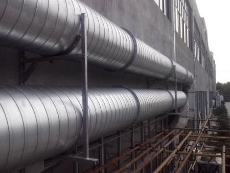 螺旋风管对外加工工程施工案例