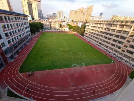 南宁市第五中学预制型跑道