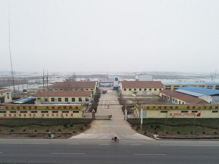 厂房俯视图
