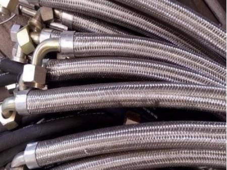 2SN/R2AT钢丝编织液压胶管