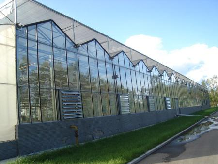 玻璃温室的优点