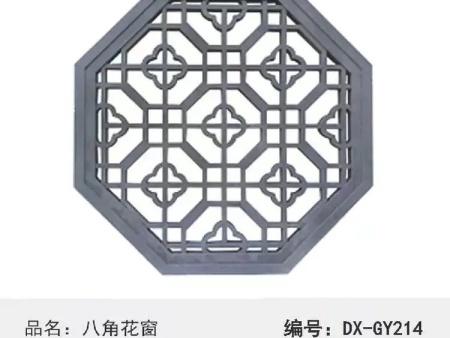 八角花窗砖雕