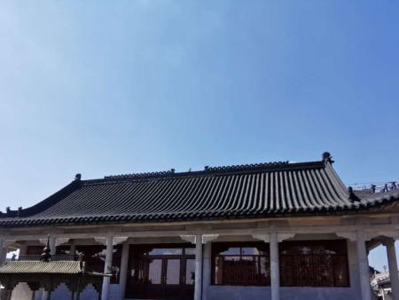 朝阳古建筑用瓦安装