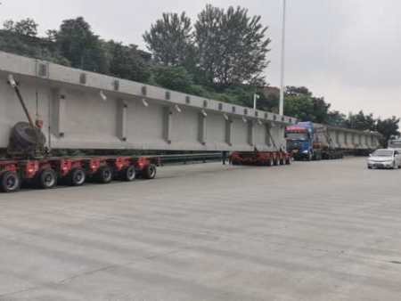混凝土预制梁运输箱梁 T梁混凝土预制构件运输