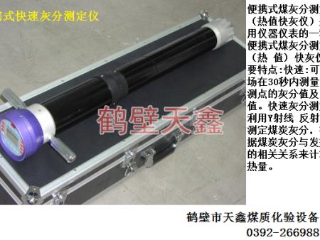 TXBX-1便携式热值快灰仪